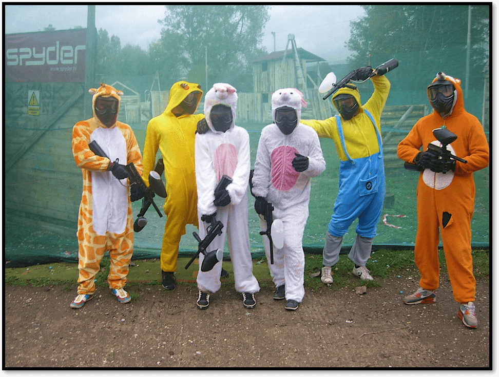 paintball prague party paintball costumes bachelor stag party