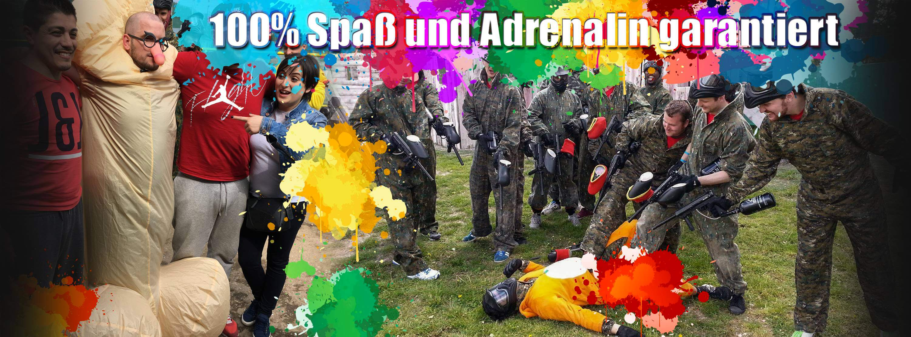 stag party paintball prag junggesellenabschied