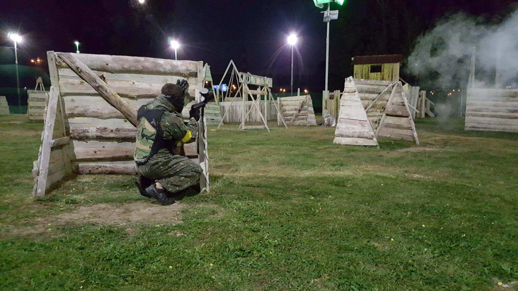 night paintball prague