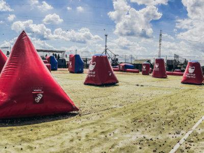 paintball prague sportovní NXL speed ball hřiště