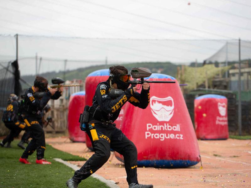 paintball prag speedball sportovní venkovní hřiště