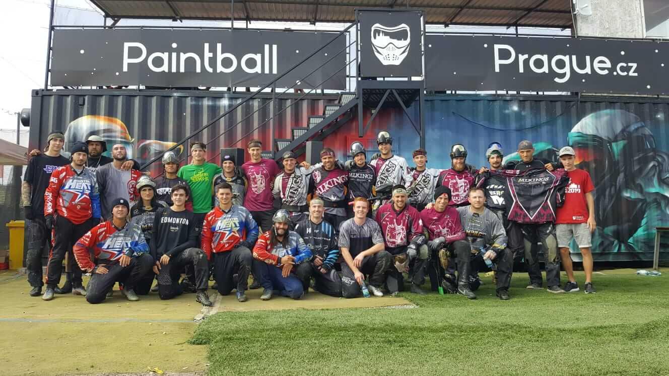 paintball prague NXL turnaj praha Speedball