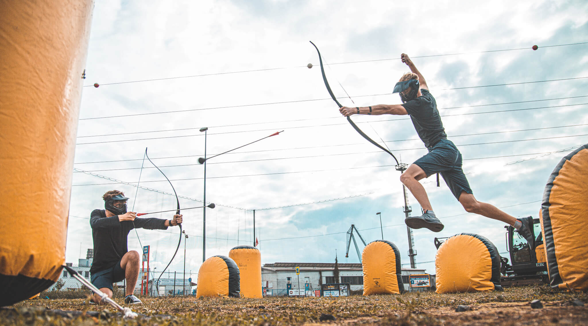 archery game prague
